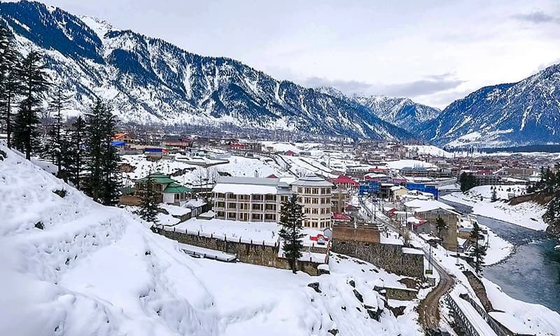 In pictures: The unmatchable pristine beauty of snowbound Kalam valley