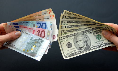 It is time for the international community to take a fresh look at the IMF's exchange rate policy.— File