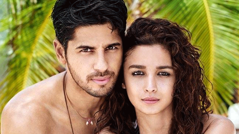 He said that he filmed his first ever sequence with Alia for <em>Student Of The Year</em>.