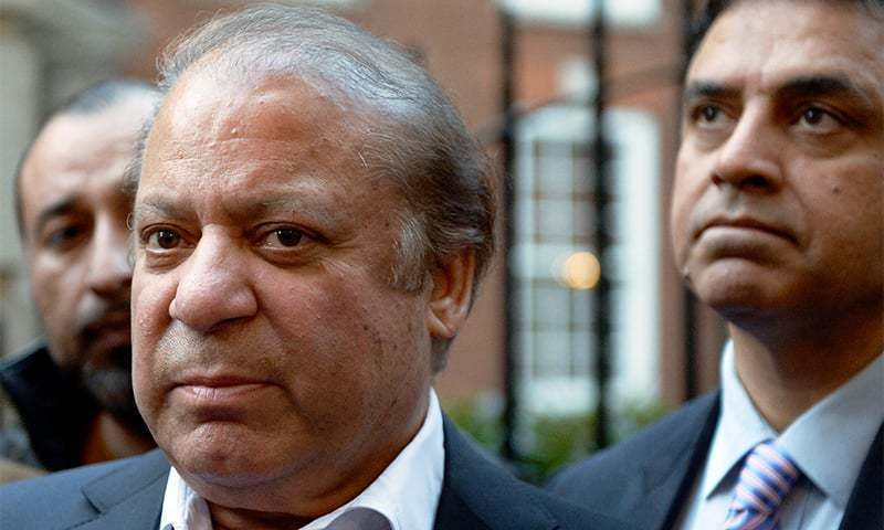 PML-N rejects reports about any deal to allow Nawaz to go to London for treatment. ─ AFP/File