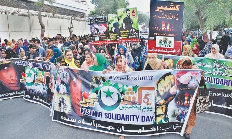 The day is being observed in Pakistan and other parts of the world at a time when Indian atrocities in held Kashmir have reached a new level of oppression and human rights denial to crush the indigenous freedom movement against the subjugating forces. ─ APP/File