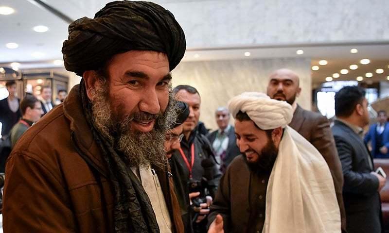 ماسکو میں طالبان کا وفد مذاکرات کیلئے آرہا ہے — فوٹو: اے ایف پی