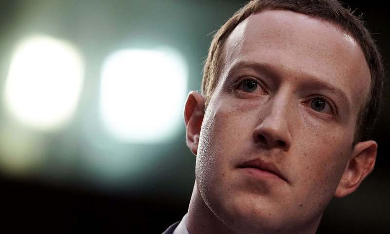 Facebook co-founder Mark Zuckerberg. — File