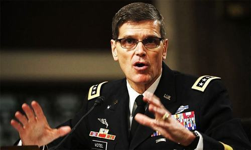 """Some military cooperation activities"" between US and Pakistan continue despite suspension of aid, says US Gen Joseph Votel. — File photo"
