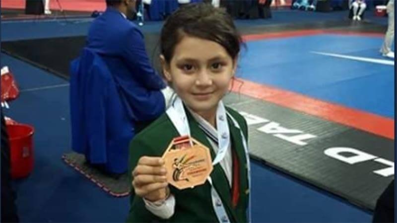 اولمپکس میں حصہ لے کر ملک کا نام بلند کرنا چاہتی ہوں، عائشہ ایاز — فوٹو: ڈان اخبار
