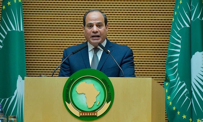 عبدالفتح السیسی کے انتخاب پر ایمنسٹی انٹرنیشنل نے مایوسی کا اظہار کیا—فوٹو:اے ایف پی