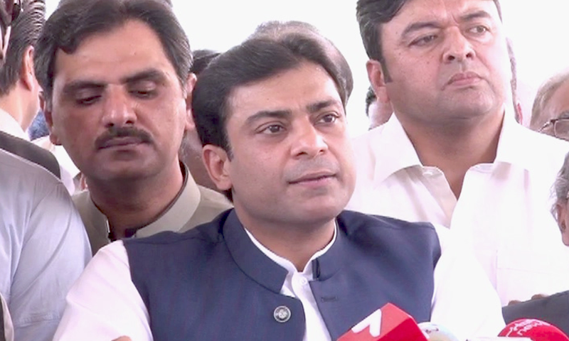 Hamza arrived in London in the first week of February and he was to return on Feb 13.— DawnNewsTV/File