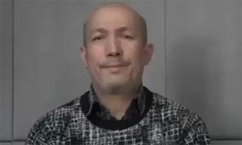 Beijing releases video of man identifying himself as Abdurehim Heyit saying he is alive and well. — Photo courtesy: BBC