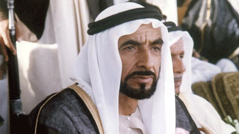 Sheikh Zayed, who died in 2004, ruled the UAE for 38 years and was instrumental in bringing about urban development in the country.