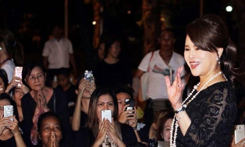 تھائی لینڈ کے بادشاہ نے شہزادی کی سیاست میں انٹری کی مخالفت کی تھی—فائل فوٹو: اے پی