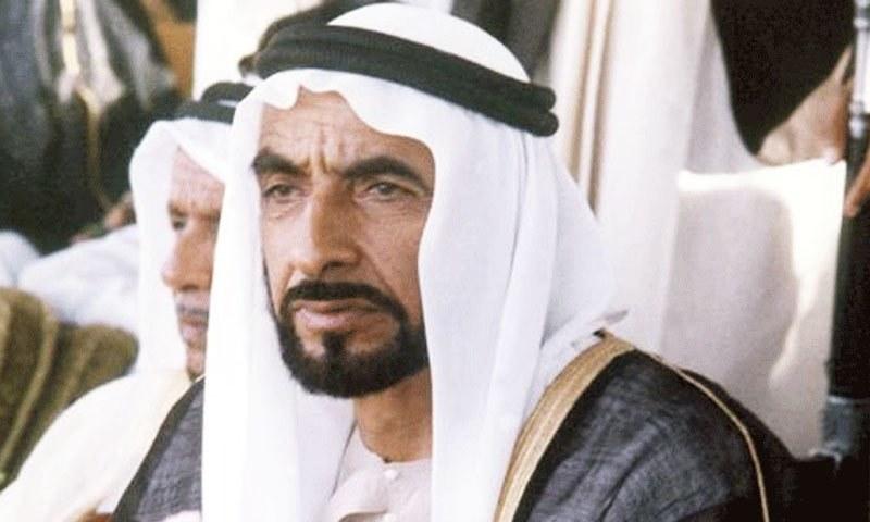 شیخ زید نے ہی متحدہ عرب امارات کی تمام ریاستوں کو متحد کیا—فوٹو: فیس بک