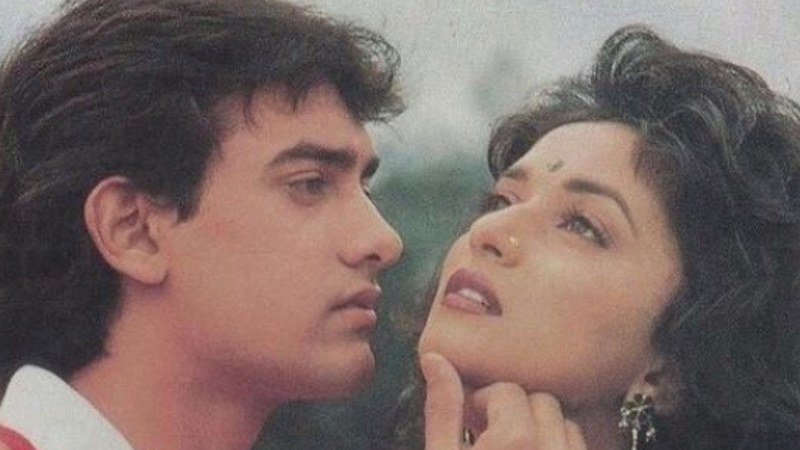 The film which came out in 1990 earned Dixit a Filmfare award for her performance