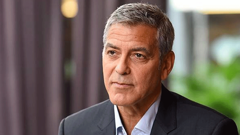 Clooney and his wife attended the former Meghan Markle's wedding to Diana's son, Prince Harry, last year.