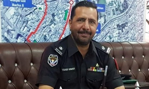 SP Tahir Dawar was kidnapped in Islamabad on October 26 and his body was recovered in Afghanistan's Nangarhar province the next month. — File