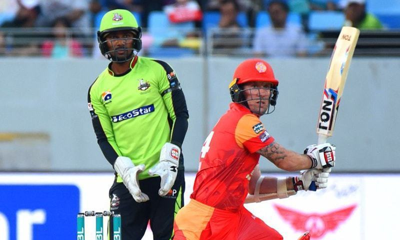 Luke Ronchi was a major factor when Lahore and Islamabad had last clashed. — File