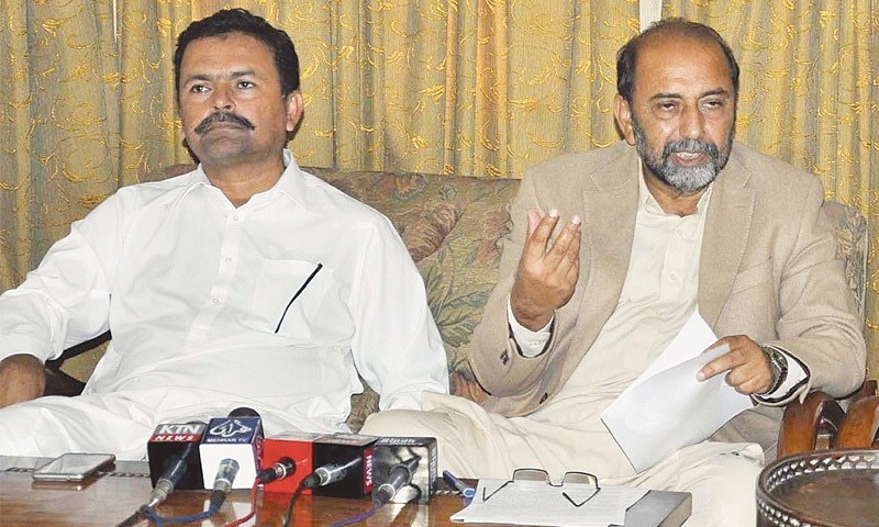 Calls for PPP leader's trial in Islamabad.— File