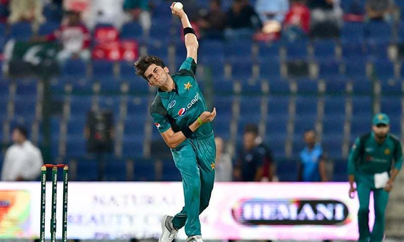 Teenage pace sensation Shaheen Shah Afridi had taken off before the third edition of the HBL Pakistan Super League. ─ AFP/File