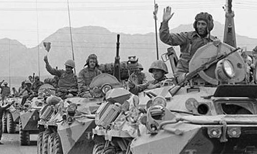 Soviet Union's invasion of Afghanistan remains an uncomfortable national memory. — File photo