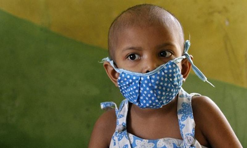 There are only 13 centres for paediatric cancer care in the country. ─ Reuters/File