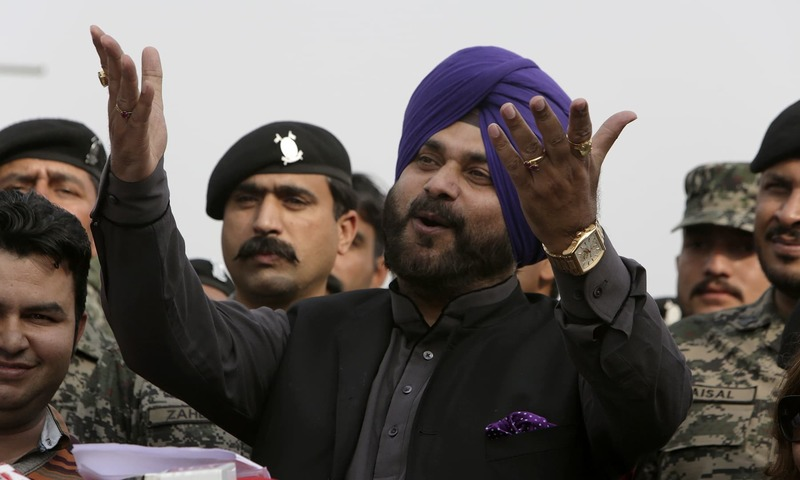 """""""For a handful of people, can you blame the entire nation,"""" Sidhu says.— AP/File"""
