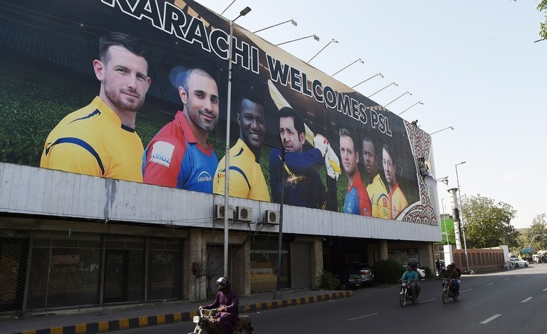 The official broadcaster for the Pakistan Super League (PSL) in India, D-Sport, has suspended the broadcast of the sporting league. — File