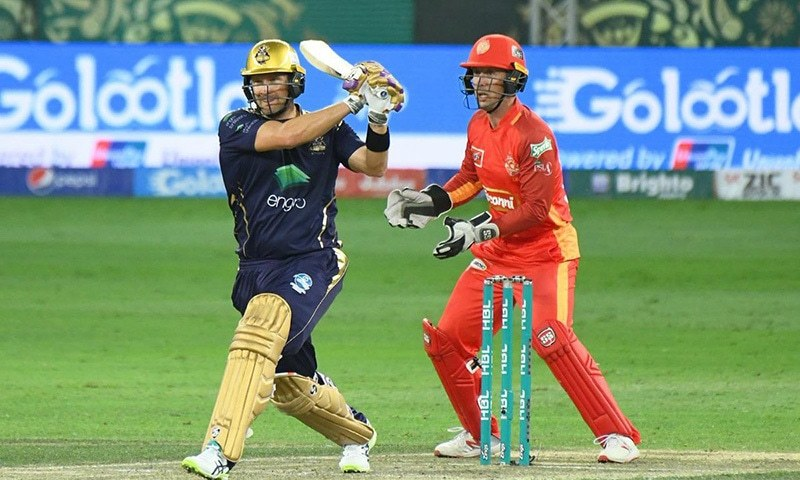 Shane Watson led the Quetta Gladiators to victory with an 81-run knock against Islamabad United in the sixth match of the 2019 Pakistan Super League (PSL) at the Dubai International Cricket Stadium on Sunday. — Photo courtesy Pakistan Super League