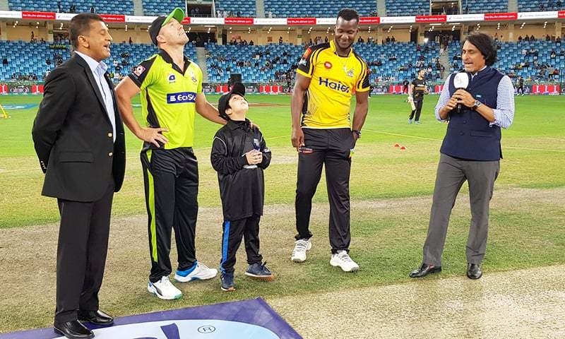 Lahore Qalandars lost the toss and will be batting first. — PSL