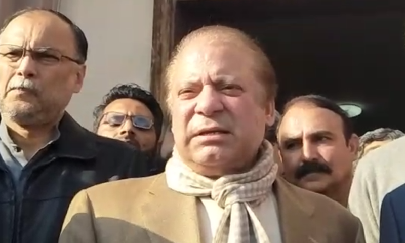 Treatment for cardiac ailment of former PM Nawaz Sharif could not be started on the third day of his hospitalisation. — File photo