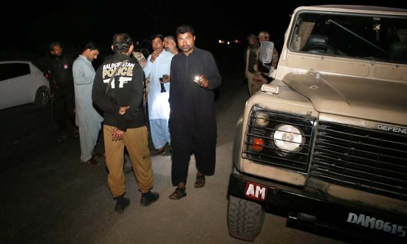 FC Balochistan spokesperson says the four personnel suffered multiple bullet wounds and died on the spot. — File photo