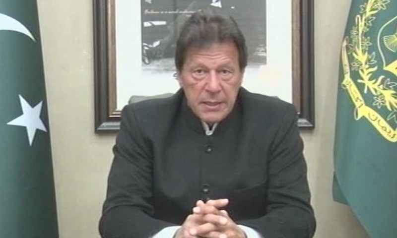 Prime Minister Imran Khan asks Indian government to share actionable evidence. ─ DawnNewsTV