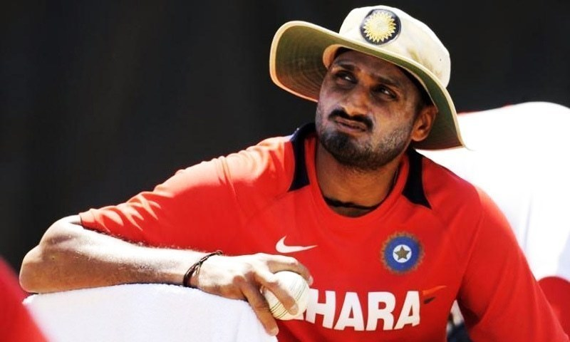 "Veteran cricketer Harbhajan Singh claims ""the Indian team is powerful enough to win the World Cup without playing Pakistan."" — File"