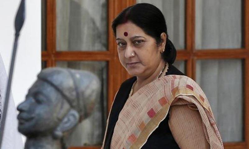 India's Minister of External Affairs Sushma Swaraj. —Photo: Reuters/File