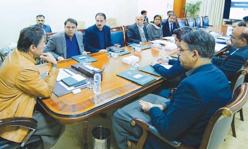 ISLAMABAD: Prime Minister Imran Khan chairs a meeting at PM Office on Tuesday to discuss steps for enhancing revenue collection.