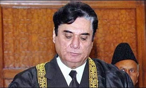 Bureau's statement says NAB Chief retired Justice Javed Iqbal was briefed about grounds for archaeology officer's arrest. — File photo