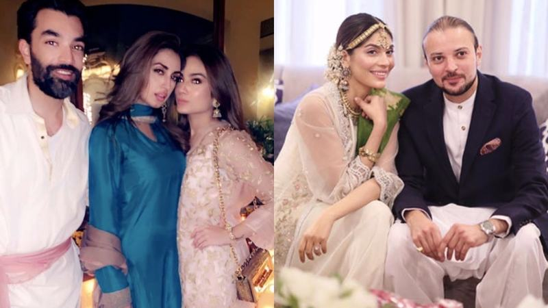 Inside Iman Ali And Amna Baber S Intimate Weddings