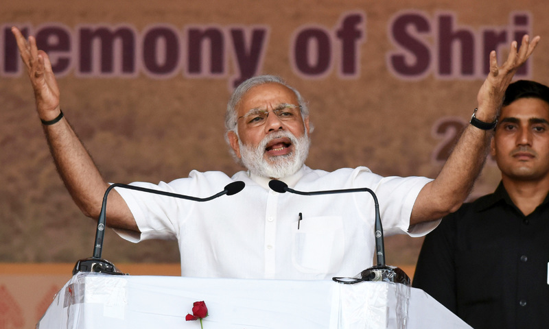 Senator says he wrote a letter to FATF president, urging to take action against Indian Prime Minister Narendra Modi for funding RSS. — AFP
