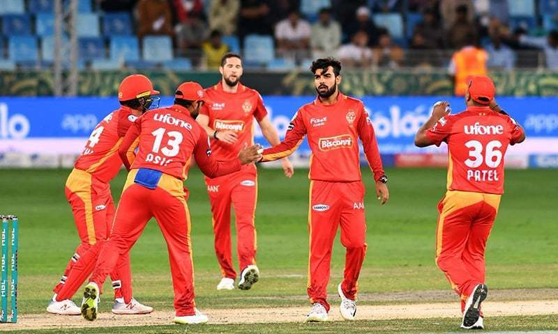 United were bowled out in 17.4 overs at the hands of a strong bowling attack from the Sultans. — PSL