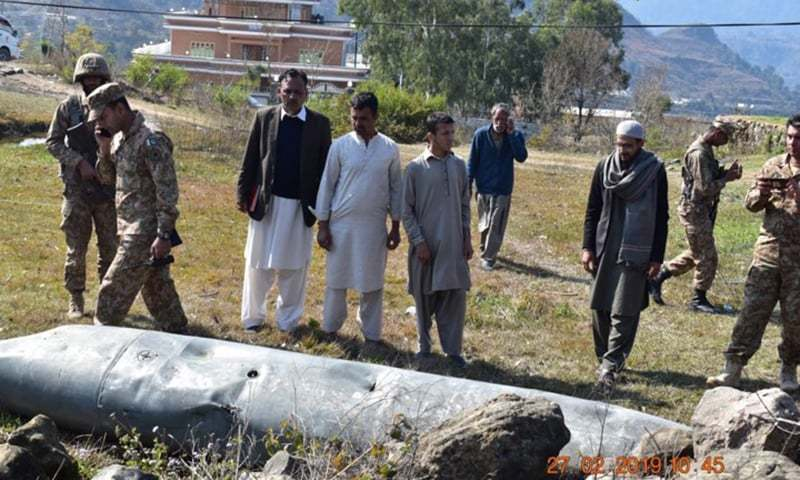 2 Indian aircraft violating Pakistani airspace shot down