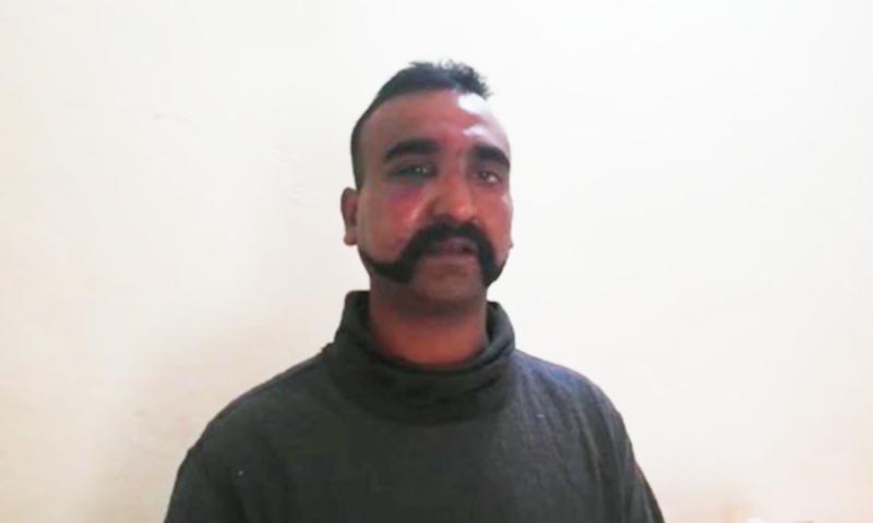 گرفتار ہونے والا بھارتی پائلٹ ابھی نندن