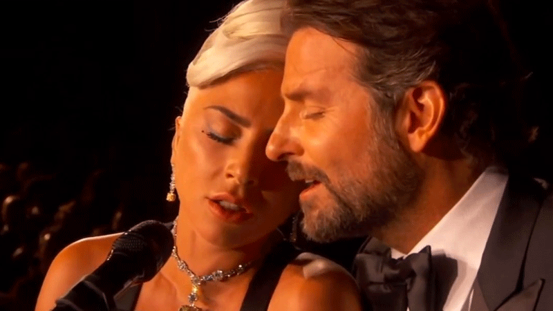 """Gaga says it was a love song in a love story and they had """"worked all week on that performance."""""""
