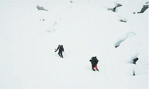 Snow scuppers search for Scottish climber missing in Pakistan
