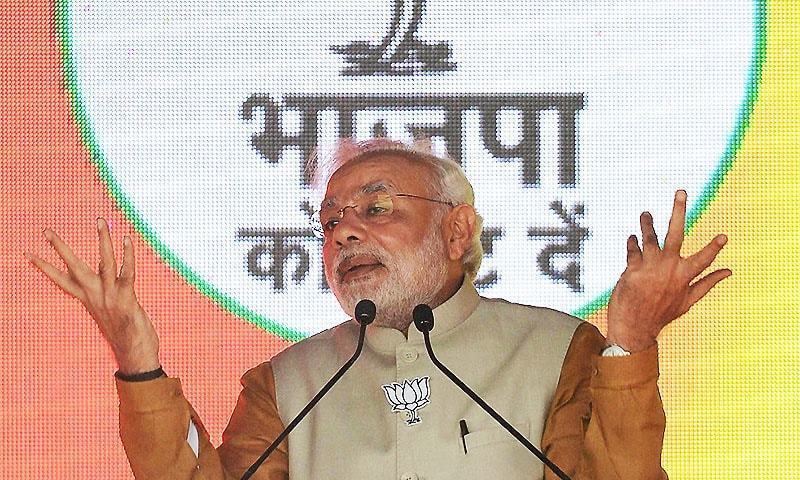 The opposition claims Modi changed terms of Rafale deal to benefit a businessman close to him. ─ AFP/File