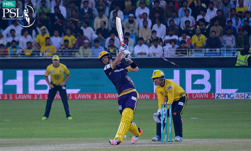Peshawar Zalmi to take on Quetta Gladiators today. — PSL Twitter/ File