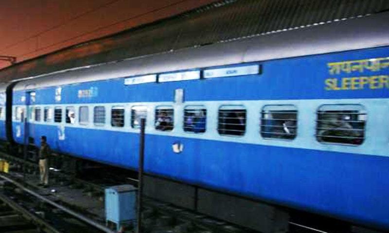 Samjhauta Express brings 12 passengers from Attari to Lahore. — AFP/File