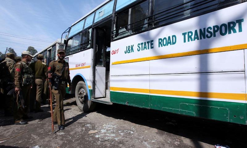 18 injured in blast at Jammu bus stand