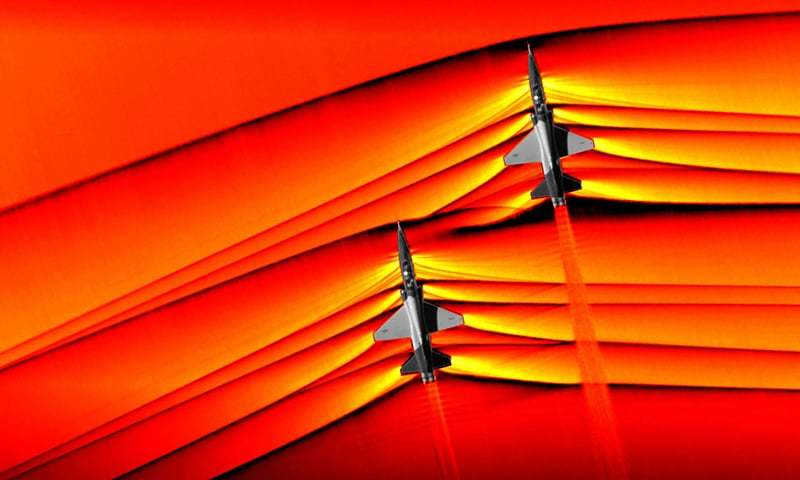 NASA, supersonic, shockwaves