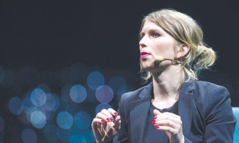 Chelsea Manning — AFP