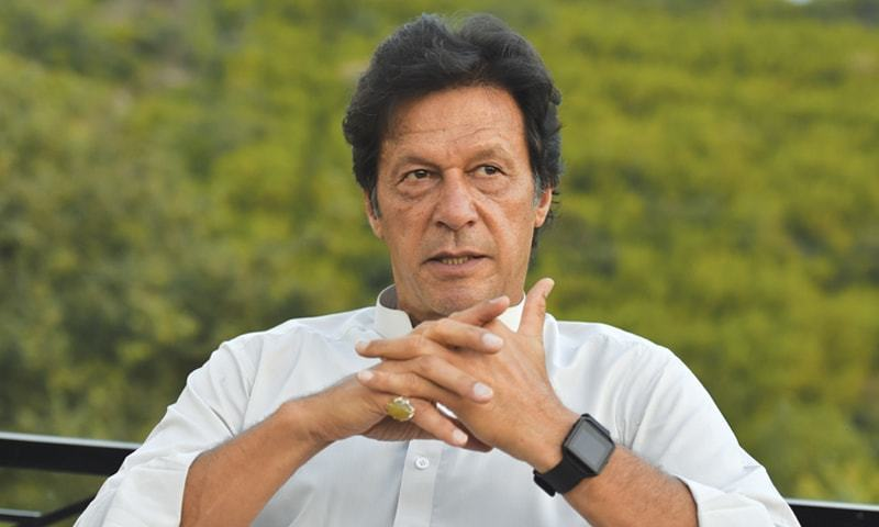Petition seeks the PTI chairman's disqualification under Article 62 and 63 of the constitution. — DawnNewspaper/File