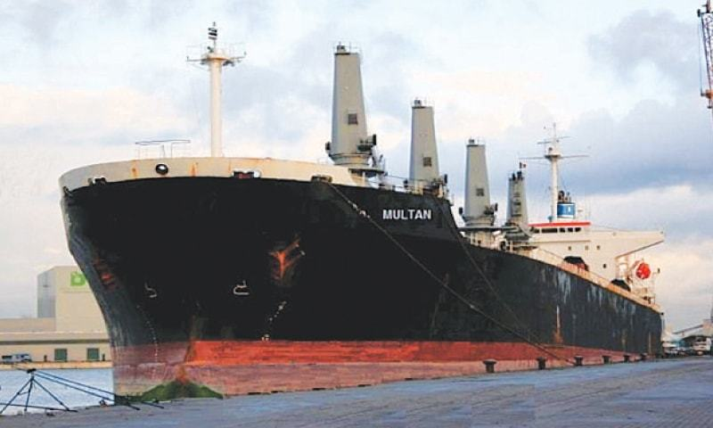 Pakistan's shipping industry has devolved to a point where only a single, govt-owned company is active in the market.— Dawn