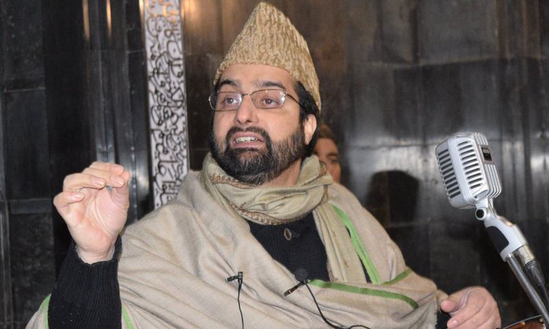 A shutdown is being observed in Srinagar and the adjoining areas of Indian-occupied Kashmir (IOK) on Sunday to protest India's National Investigation Agency's (NIA) move to summon All Parties Hurriyat Conference chairman Mirwaiz Umar Farooq to New Delhi for questioning. — Photo courtesy Mirwaiz Umar Farooq Twitter